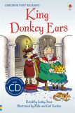Usborne First 2 - King Donkey Ears + CD - Lesley Sims