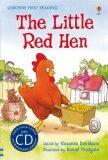 Usborne First 3 - The Little Red Hen + CD - Susanna Davidsonová