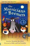 Usborne First 3 - The Musicians of Bremen + CD - Susanna Davidsonová