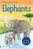 Usborne First 4 - Elephants + CD - Kate Daviesová