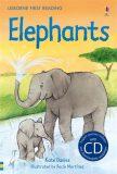 Usborne First 4 - Elephants + CD - Kate Daviesová