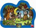 Večer u Krtečka - tvarované puzzle 25 dí - Dino Toys
