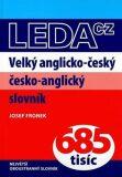 Velký anglicko-český a česko-anglický slovník - Josef Fronek