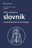 Velký výkladový slovník soudnělékařské terminologie - Miroslav Hirt,  Petr Hejna, ...