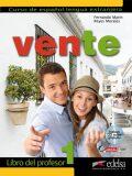 Vente 1/A1+A2 Libro del profesor + CD - Marín Arrese Fernando, ...