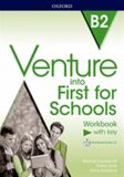 Venture into First for Schools Workbook With Key Pack - Kathy Gude,  Jenny Quintana, ...