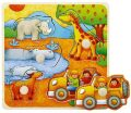 Vkládačka Na safari - Top Bright