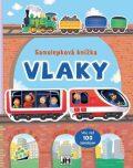Samolepková knížka Vlaky - JIRI MODELS