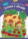 Vodní omalovánky - Zvířata v ohradě - Wierzchowska Barbara