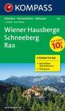 Wiener Hausberge Schneeberg 228 ,2 mapy / 1:25T NKOM - KOMPASS-Karten GmbH