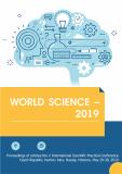 World Science – 2019 - Yelena Mamonova, ...