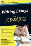 Writing Essays For Dummies - Mary Page, Carrie Winstanley