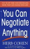 You Can Negotiate Anything - Cohen Herb