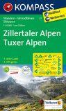 ZILLERTALER ALPEN 1:50 000 - KOMPASS-Karten GmbH