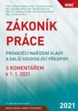 ANAG Zákoník práce, prováděcí nařízení vlády a další související předpisy s komentářem k 1. 1. 2021 - Eva Hofmannová, ...