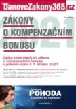 Zákony o kompenzačním bonusu 2021 - autorů kolektiv