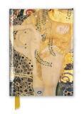 Zápisník Gustav Klimt: Water Serpents I (Foiled Journal) - Flame Tree Publishing