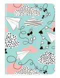 Zápísník Midi Flexi DreamscapeLine FLY (12 x 17 cm) - teNeues