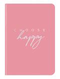 Zápisník Midi Flexi GlamLine HAPPY (12 x 17 cm) -