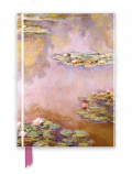 Zápisník Monet: Waterlilies (Foiled Journal) - Flame Tree Publishing