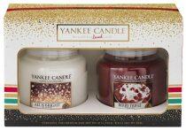 Vánoční dárková sada Yankee Candle - 2x Classic střední