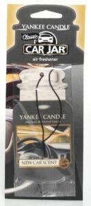 Papírová visačka do auta Yankee Candle - New Car Scent