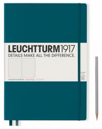Zápisník Leuchtturm1917 Pacific Green Pocket tečkovaný