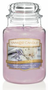 Svíčka Yankee Candle Classic - Honey Levander Gelato (velká)