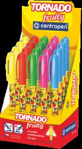 Tornádo Fruity mix barev