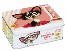 Čivava: psí móda: magnetická hra 50 dílků a 8 předloh