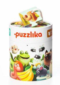 Moje rodina: naučné puzzle 20 dílků