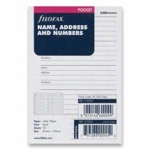 Filofax kapesní adresář