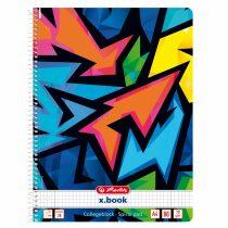 Spir.blok A4/80 čtv., NEON ART