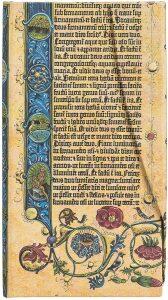 Zápisník Paperblanks - Gutenberg Bible Genesis, Slim / linkovaný