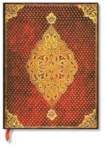 Paperblanks Zápisník Golden Trefoil Ultra linkovaný
