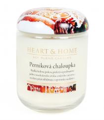 Svíčka Heart & Home - Perníková chaloupka (340 g)