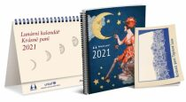 Lunární kalendář Krásné paní s publikací 2021