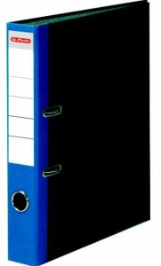 Pořadač A4/5 mramor modrý