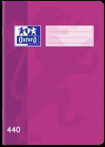 Školní sešit Oxford 440 fialový