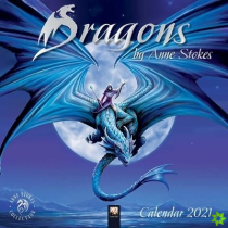 Dragons by Anne Stokes Wall Calendar 2021 (Art Calendar)