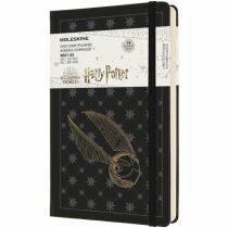Moleskine Harry Potter denní diář 2021-2022 černý L
