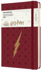 Moleskine Diář 2022 Harry Potter červený L, denní