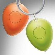 Klíčenka LED světlo - oranžová