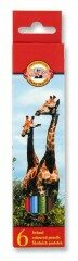 Sada pastelek - Žirafy 6 kusů 3551/6