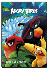 Desky na abecedu - Angry Birds Movie