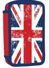 Školní penál dvoupatrový - UK