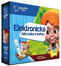 Elektronická tužka s knihou Hravá angličtina - Kouzelné čtení Albi