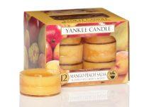 Čajové svíčky Yankee Candle - Mango  (12 ks)