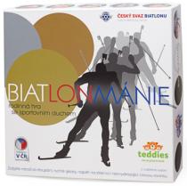 BIATLONMÁNIE - společenská hra