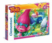 Puzzle Trolls - 104 dílků